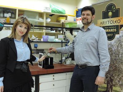 Dr Prokopios Magiatis and Dr. Eleni Melliou