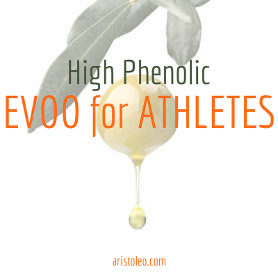 high phenolic evoo for athletes