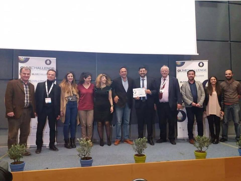 The Predictor wins first Prize at the Olive Challenge in Athens