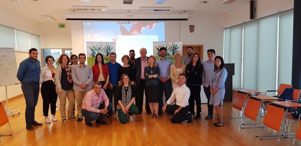 ARISTOIL Interreg MED Program Parners Split 2018