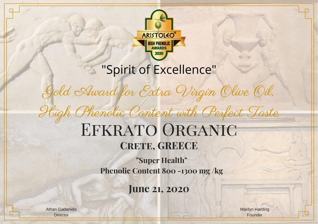"""EFKRATO"" ORGANIC"
