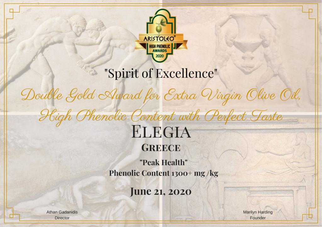 """""""ELEGIA"""" DOUBLE GOLD"""