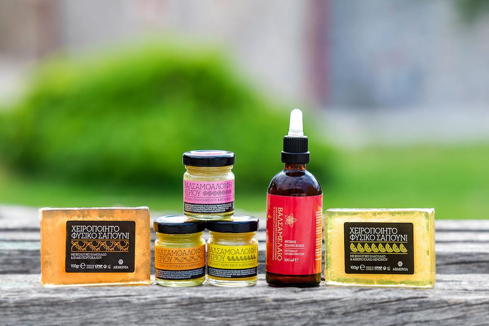 "Esthique Natural Products ""Iris"" Selection"